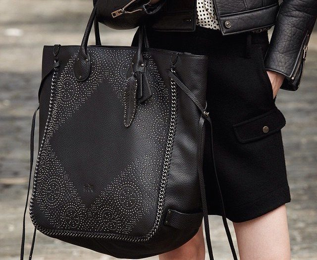Studded Large Tatum Tote by Coach