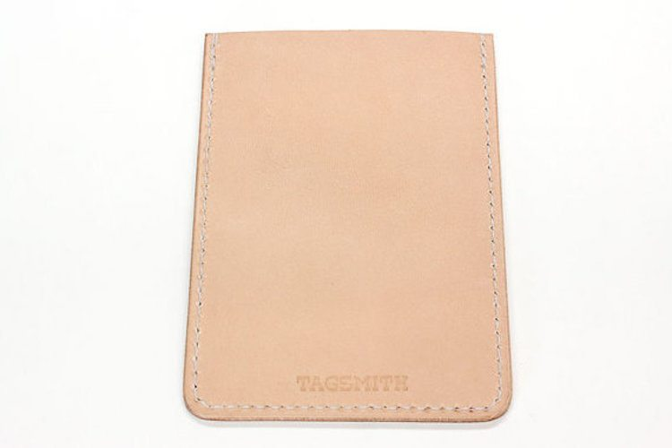 Tagsmith Personalized Leather Minimalist Wallet