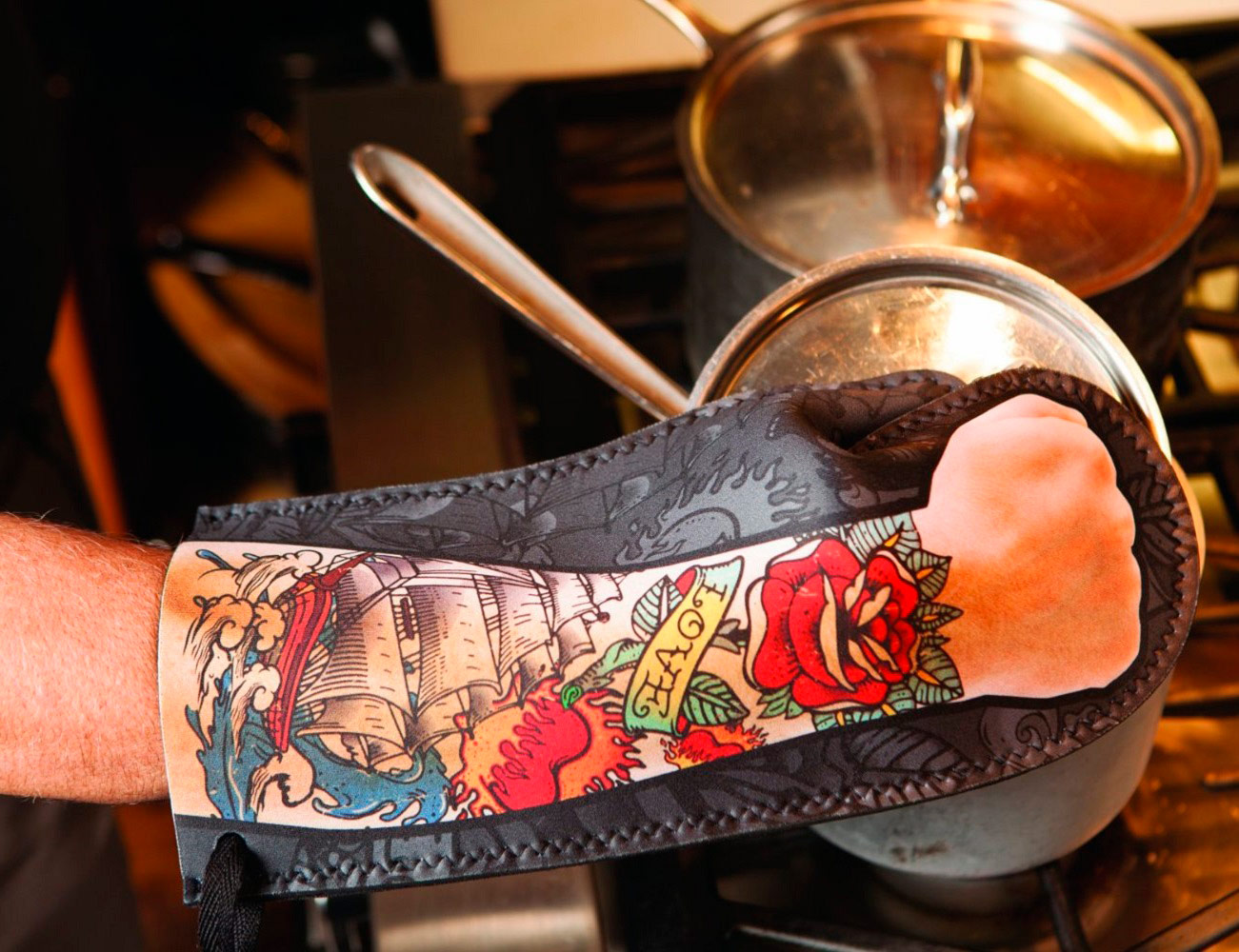 Tattoo+Oven+Mitt+By+DCI