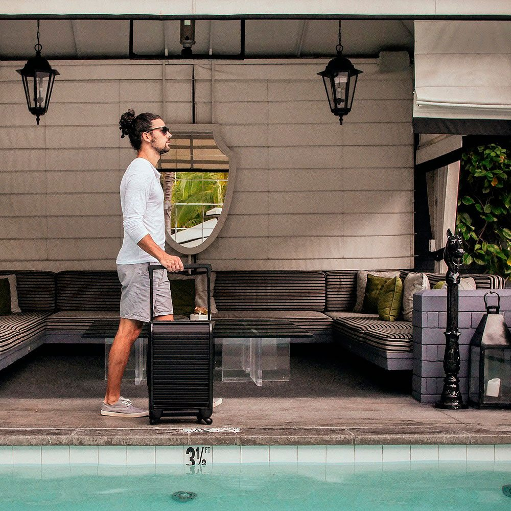 Trunkster Smart Zipperless Luggage