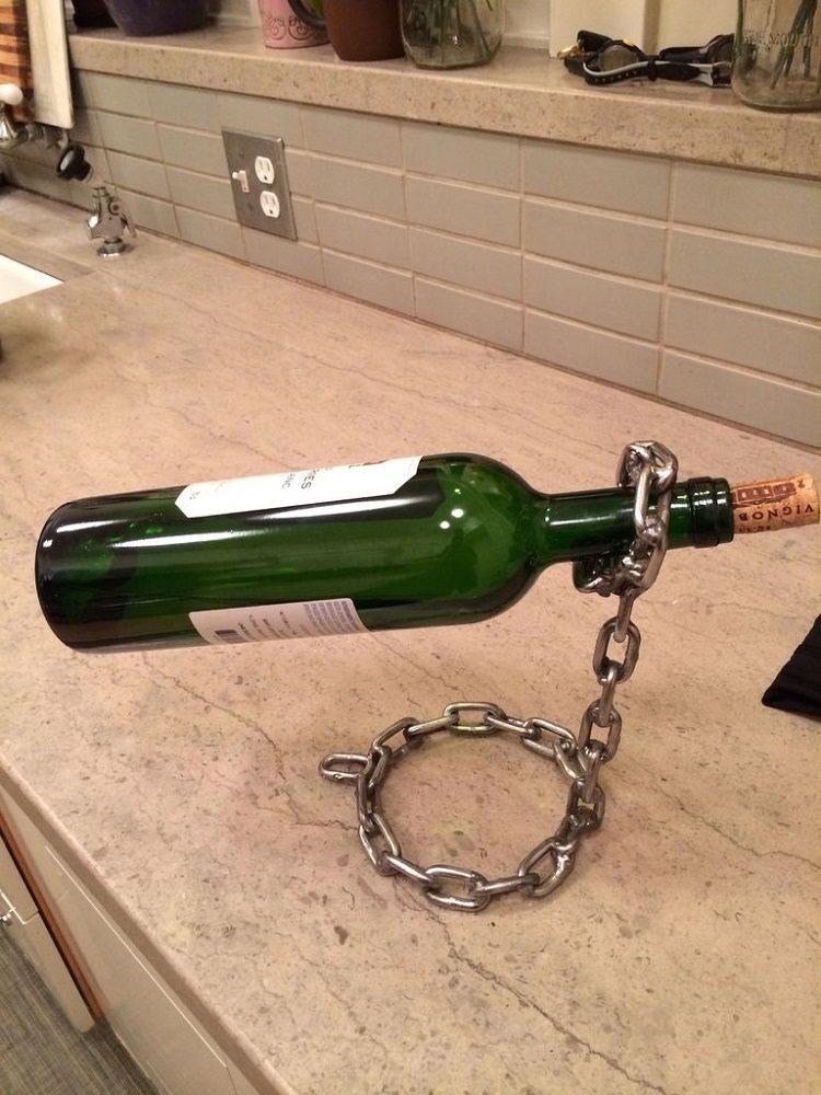 Van Der Luxe Chain – Let Your Wine Bottles Float in Air