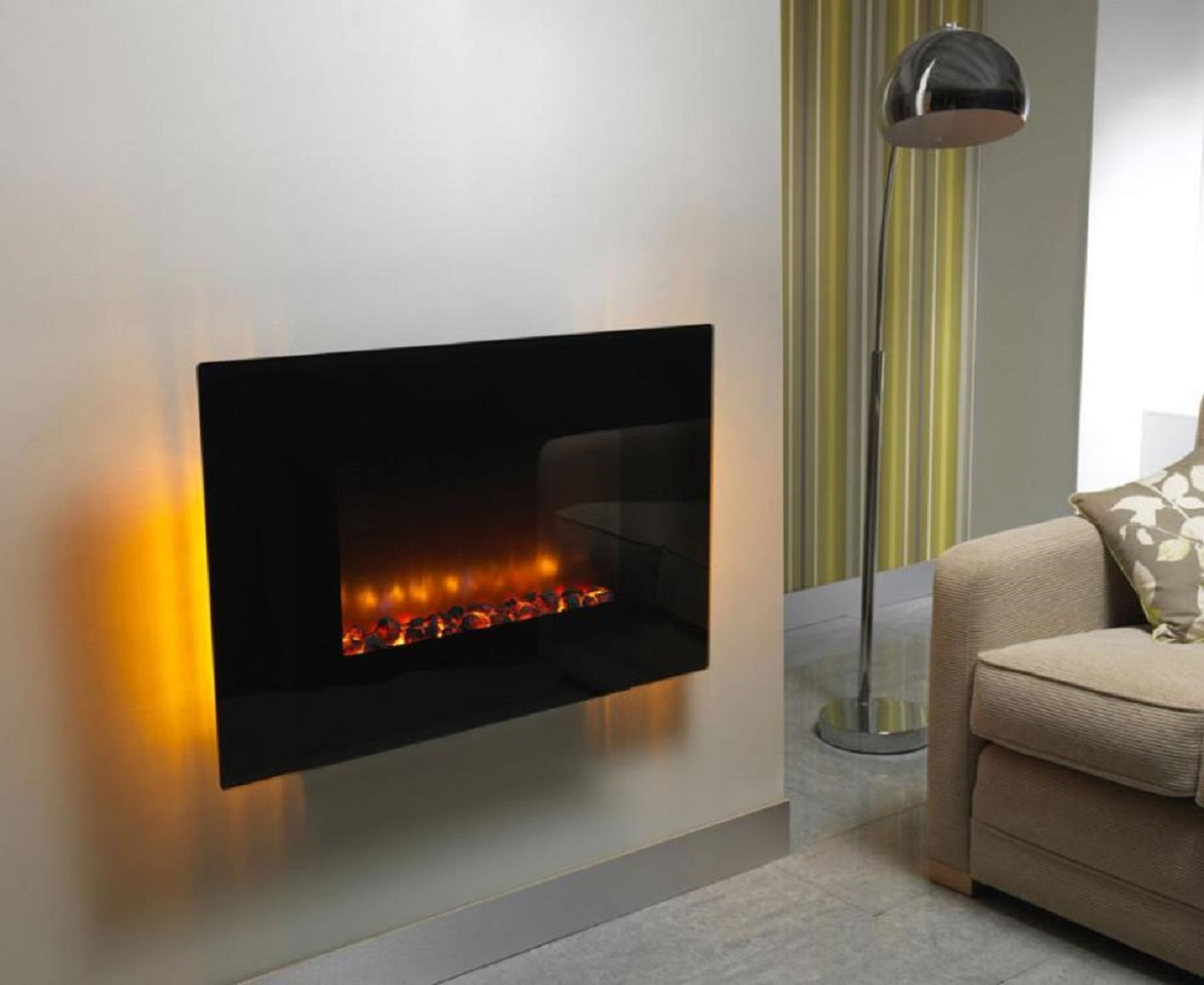 Wall-Mounted+Indoor+Electric+Fireplace