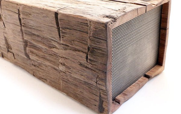 BeamBox Marries Reclaimed Wood, Wireless Audio Into Stunning Gadget