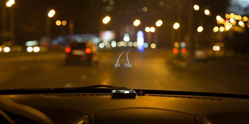 HUDWAY app safe driving assistant