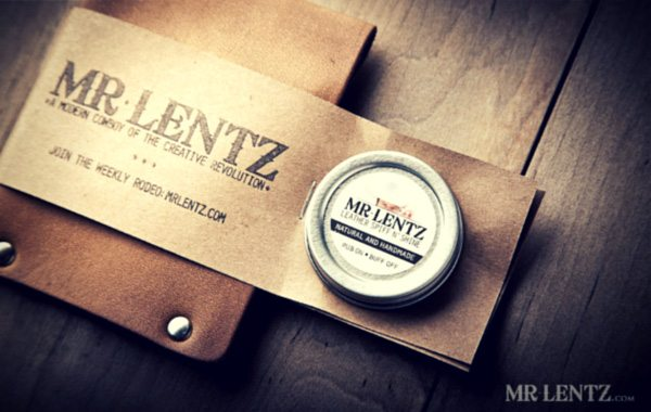 Minimal Leather Wallet From The Mr. Lentz Shop Epitomizes A Slim Profile Wallet With Extra Card Slots