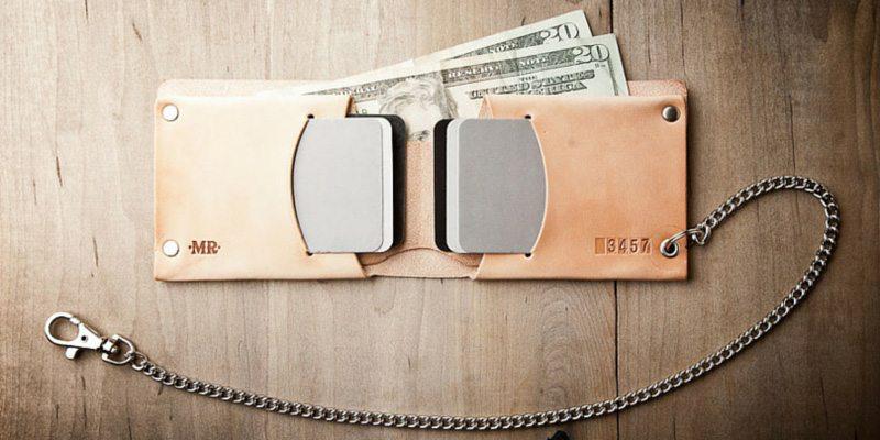 Minimum leather wallet