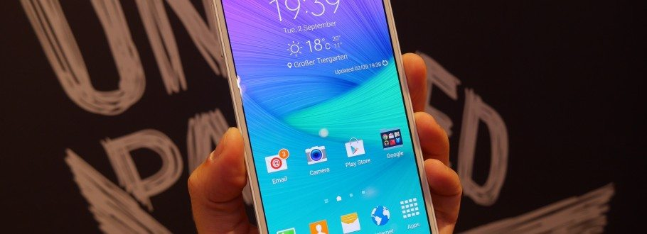 Samsung Galaxy Note 4 Hands On Review: Bigger is so Much Better