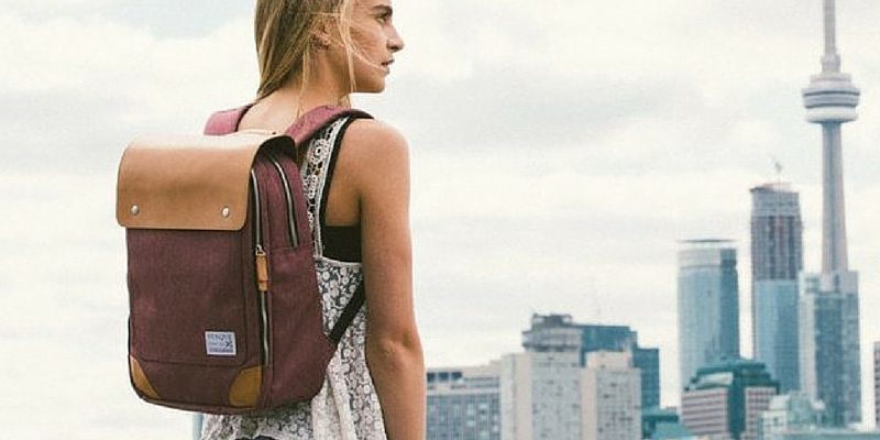 Flatsquare Backpack for Her by Venque