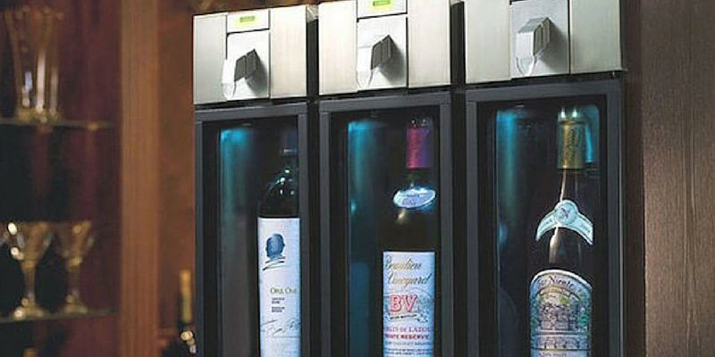 Wine Preservation System by Skybar