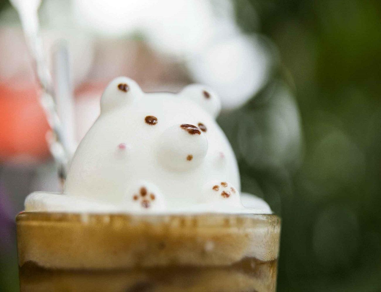 3D Latte Art Maker
