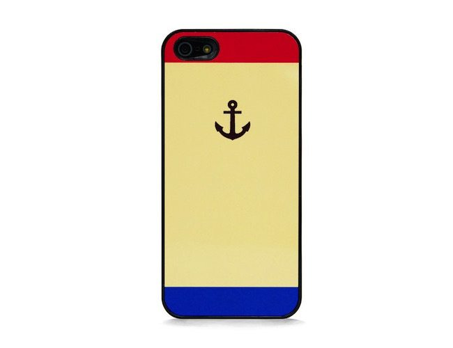 Anchor Symbol Color Block iPhone SE/5s Case