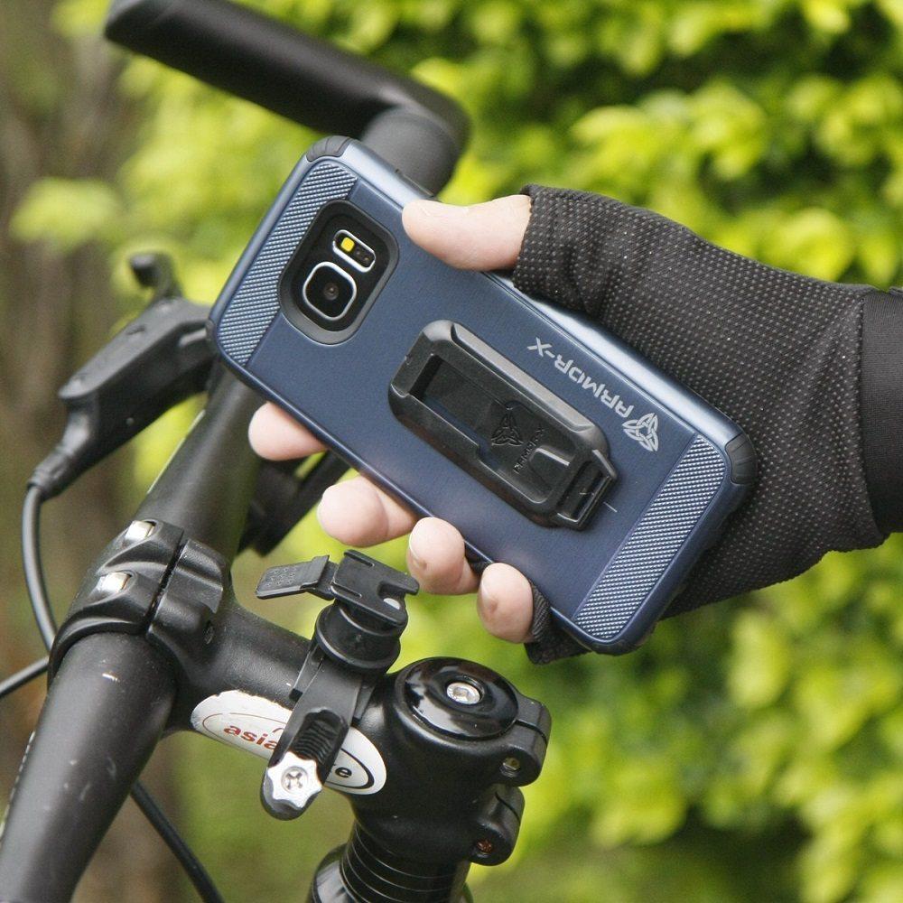 Armor-X iPhone 6 Mount Case for jogging, Car & Bike loading=