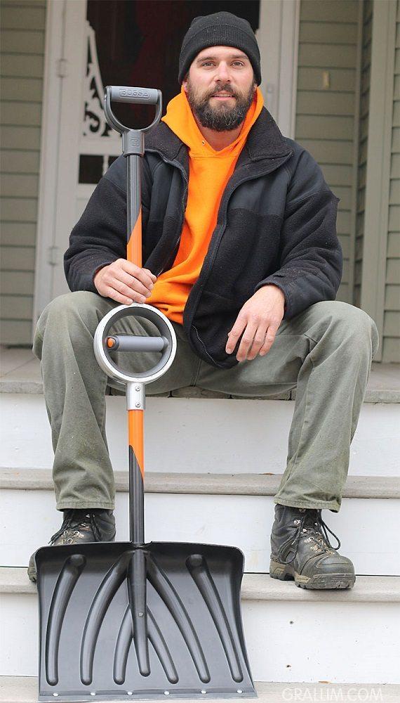 Bosse Tools Ergonomic Shovel