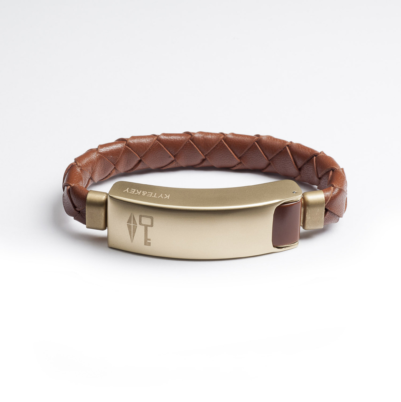 Braided Leather Cabelet