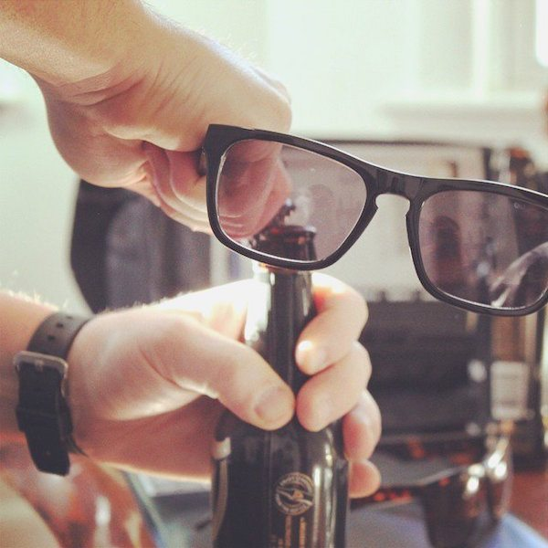 Brewsees Pryfarer Bottle Opener Sunglasses