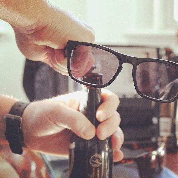 Brewsees Pryfarer Bottle Opener Sunglasses