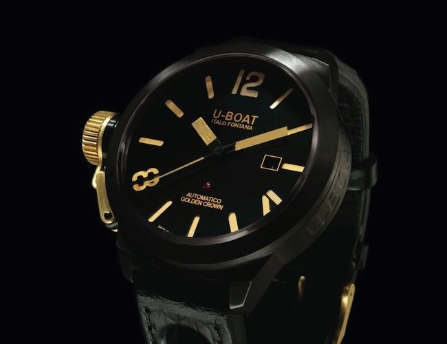 Classico Golden Crown Watch by U-Boat