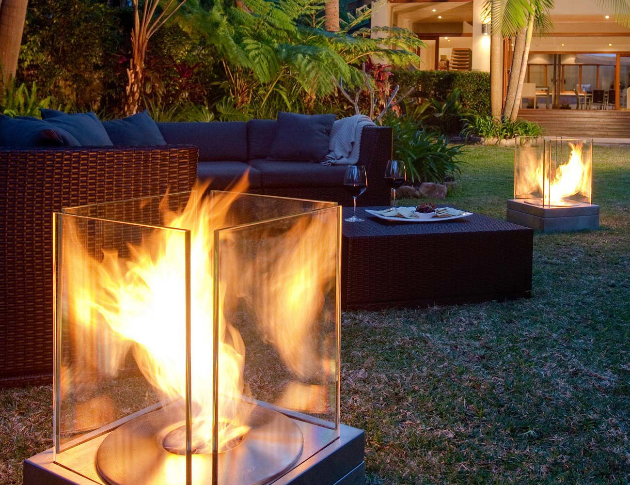 ecosmart fire mini t ventless outdoor fireplace gadget flow