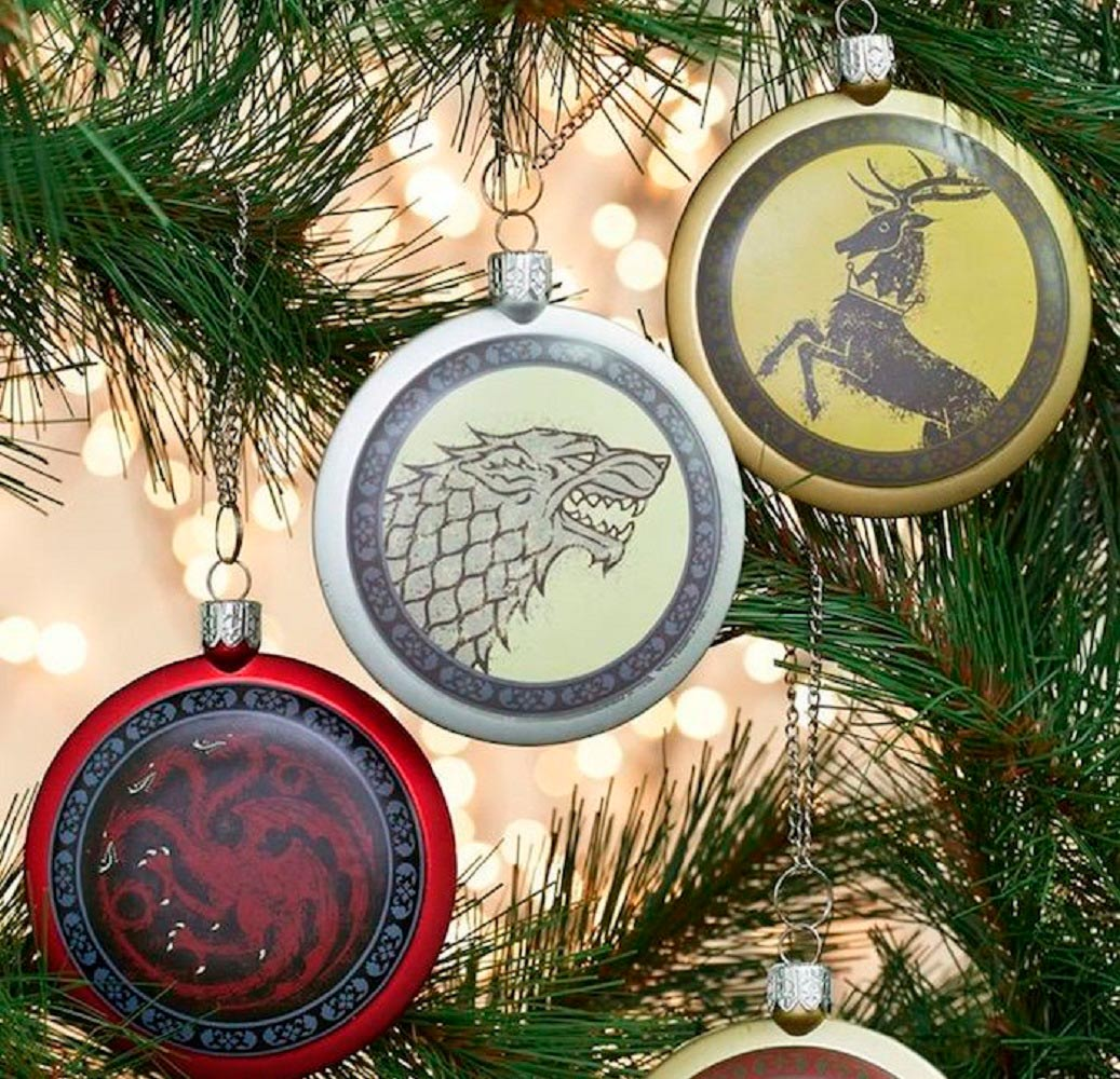 Game+Of+Thrones+Sigil+Ornament+Set