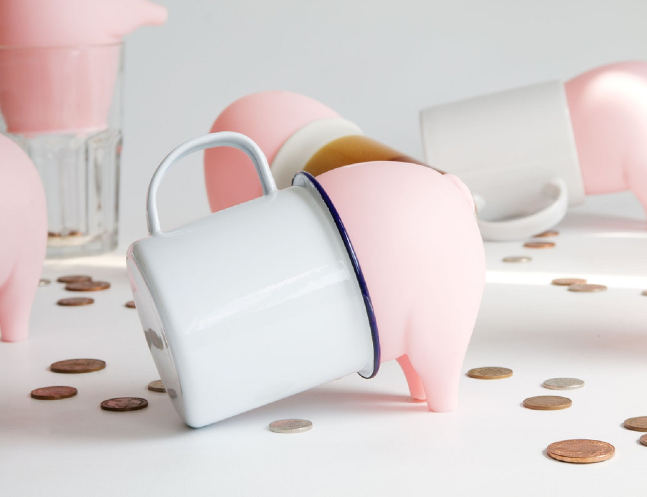 Greedy Pig Money Box Plug