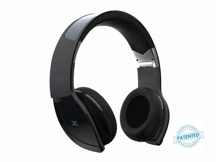 Helios – The World's First Wireless Solar Powered Headphones