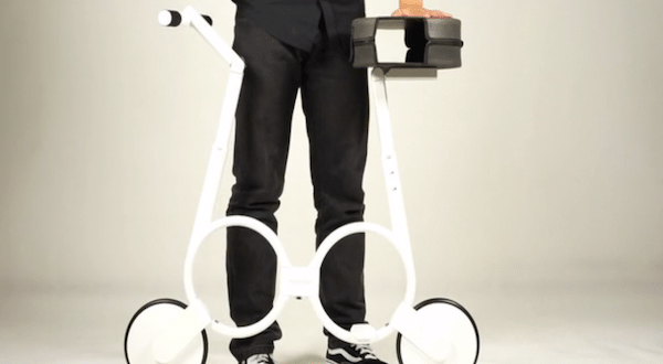 The Impossible Electric Bike Folds Into A Bag When You're Not Using It