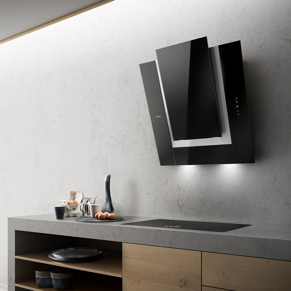 Ico Wall Kitchen Hood by Elica