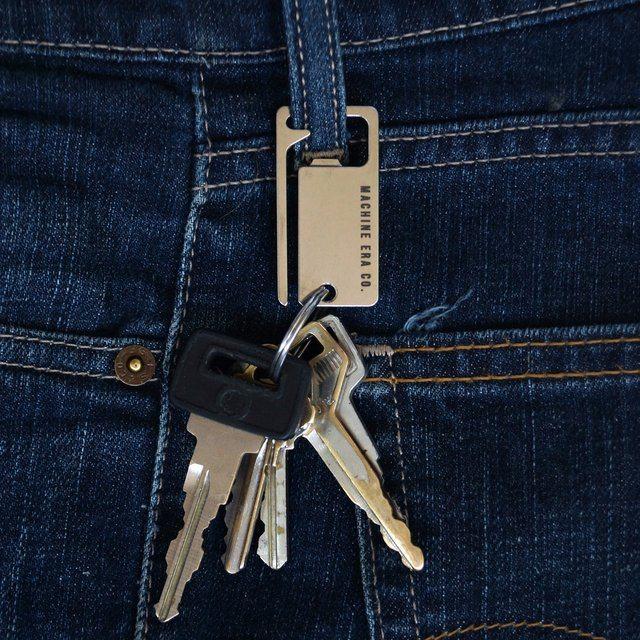 Keysquare Bottle Opener Carabiner