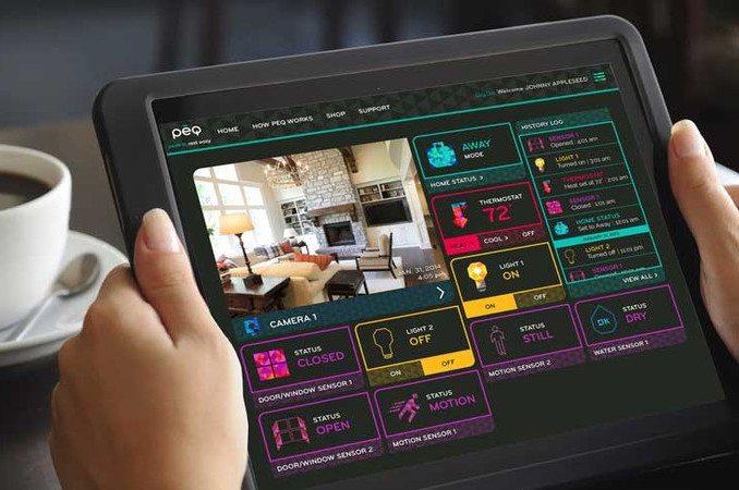 PEQ+Smart+Home+Sensor+System