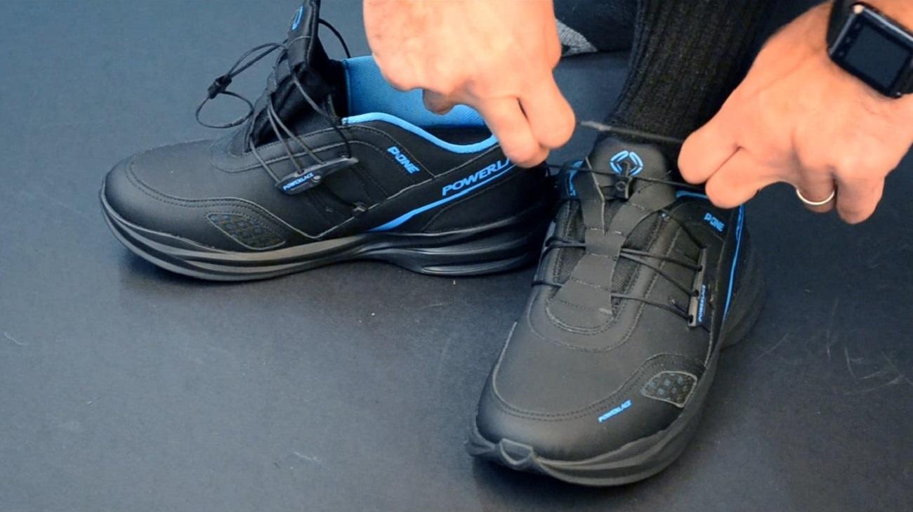 Powerlace Advanced Auto-Lacing Shoe Technology