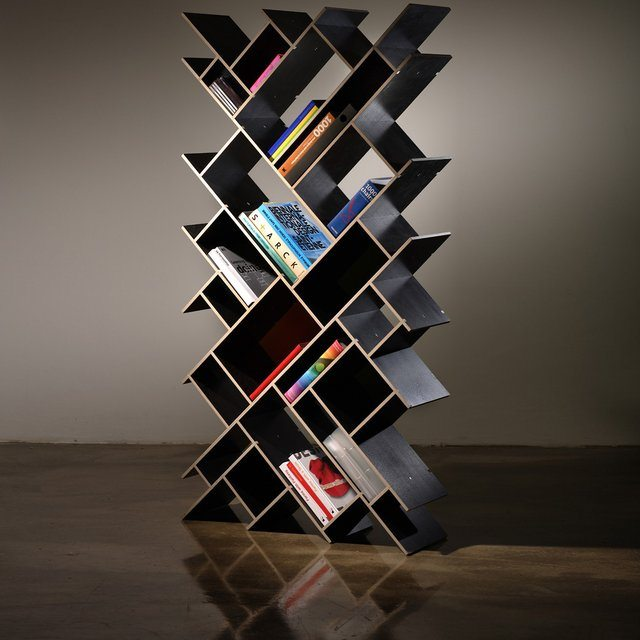 Quad Oblong Bookcase