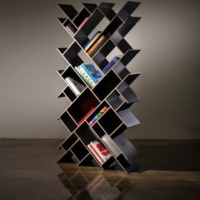 Quad Oblong Bookcase