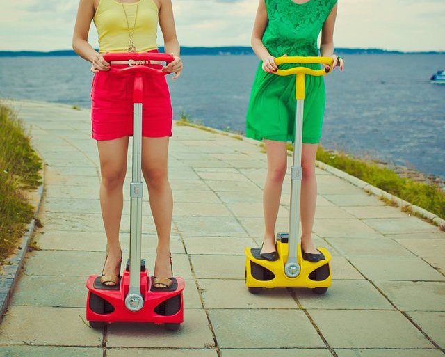 Self Balancing Electric Scooter