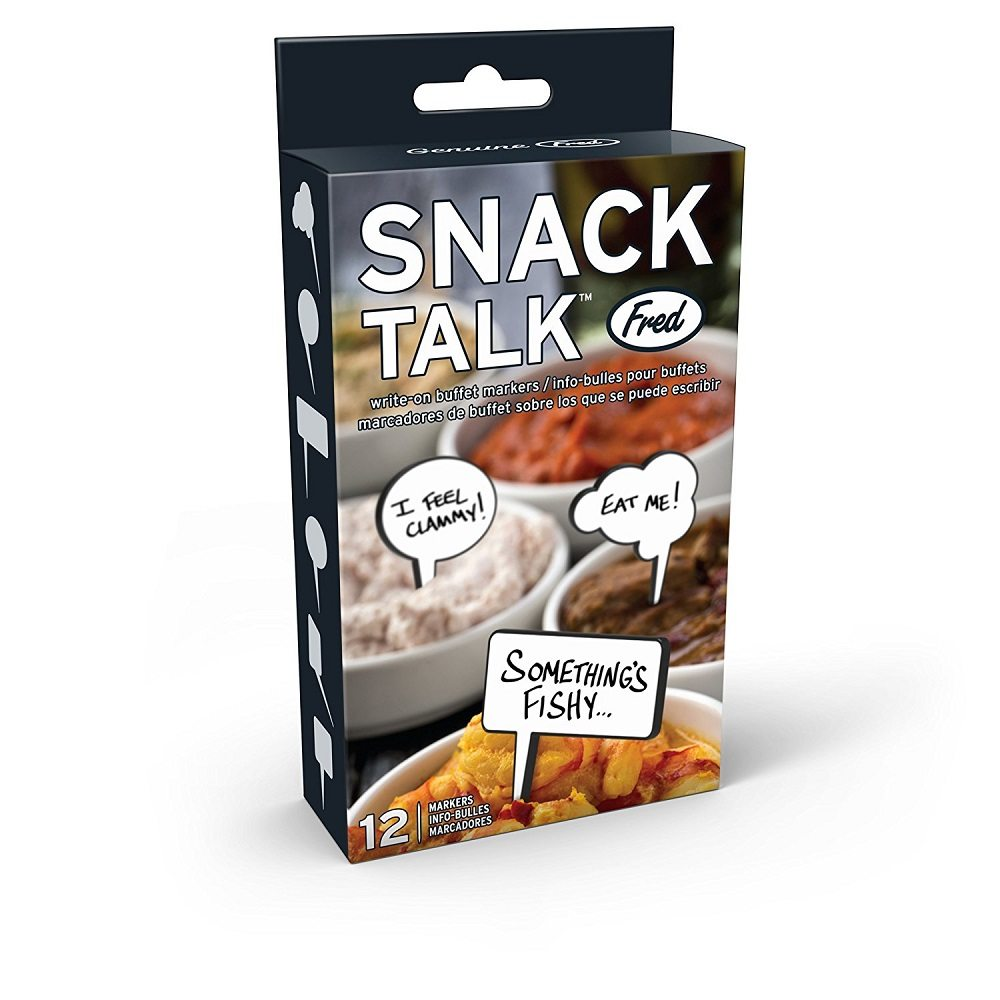 Snack Talk Food Markers