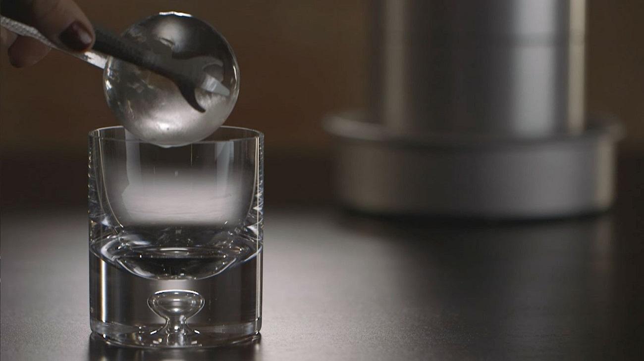 Spherical Ice Ball Maker