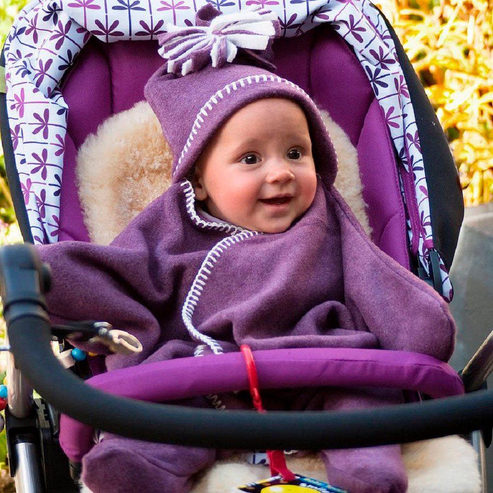 Star Fleece Baby Wrap