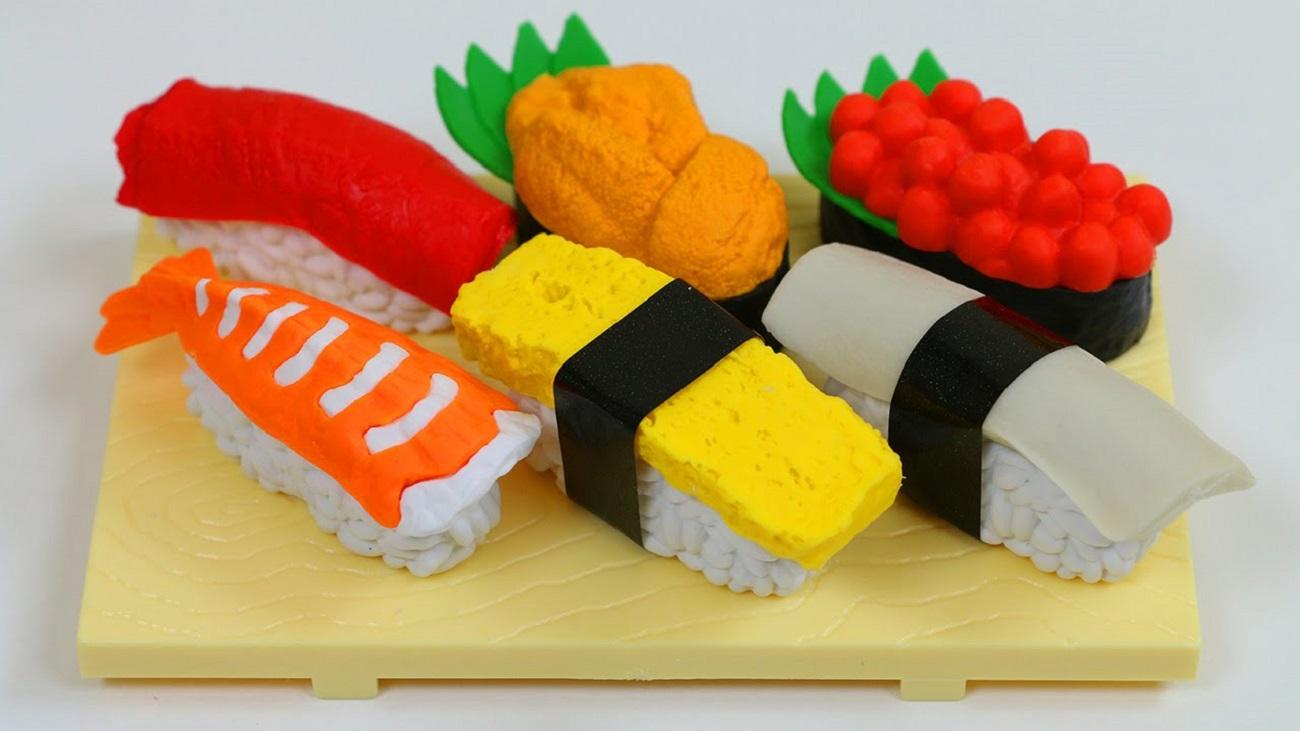 Sushi+Erasers