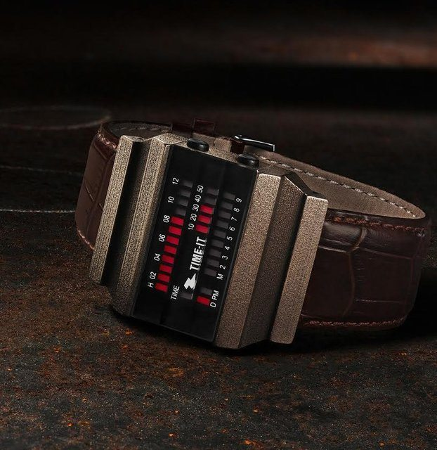 Time-It Limited Edition T-Block Watch