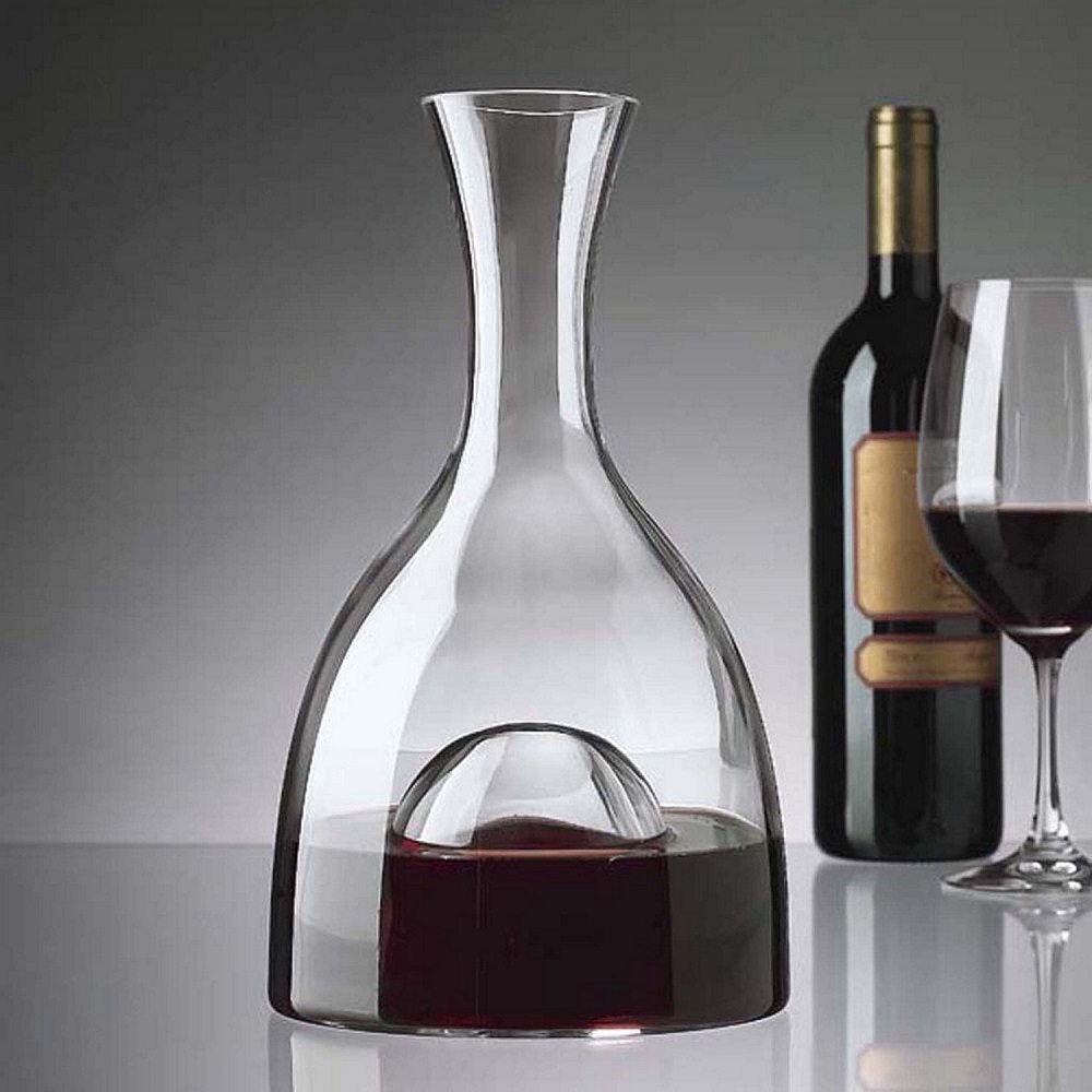 Visual wine decanter gadget flow for Wine carafes and decanters