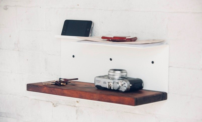 Wall Side Shelf by JM&Sons