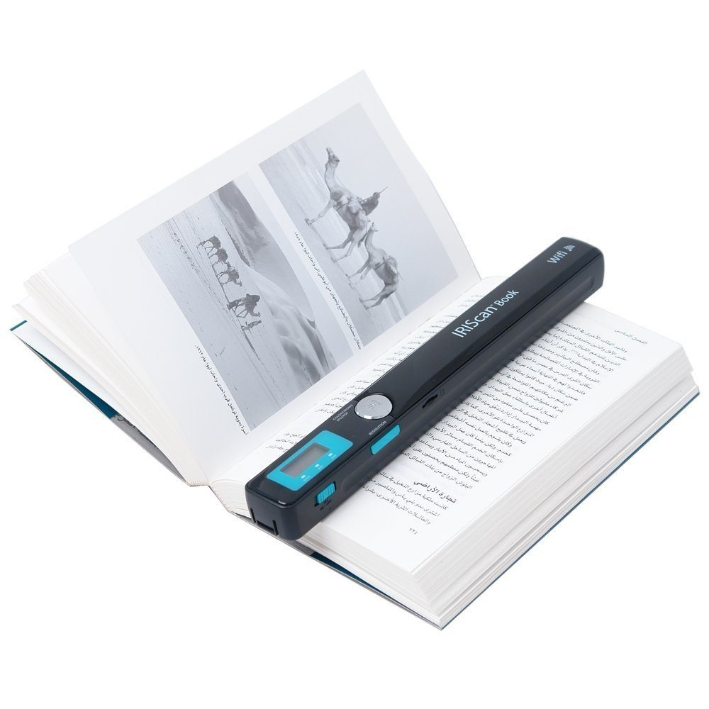 Wireless Book Scanner by IRIScan