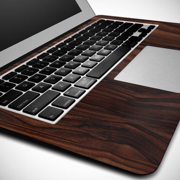 Wood MacBook Wrap by SlickWraps