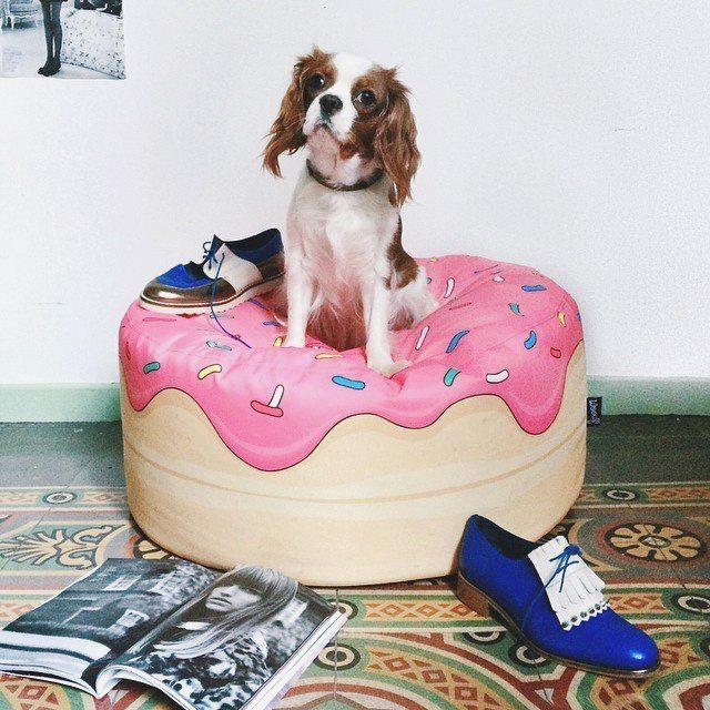 Yummy Donut Bean Bag by Woouf loading=
