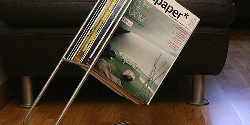 J-Me Float Magazine Rack