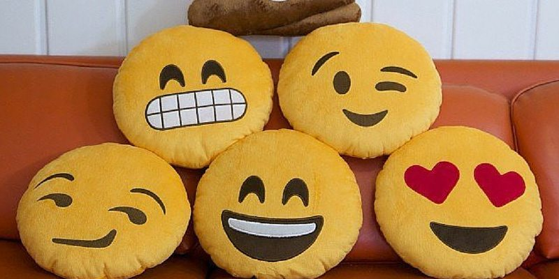 Emoji Pillows by Throwboy