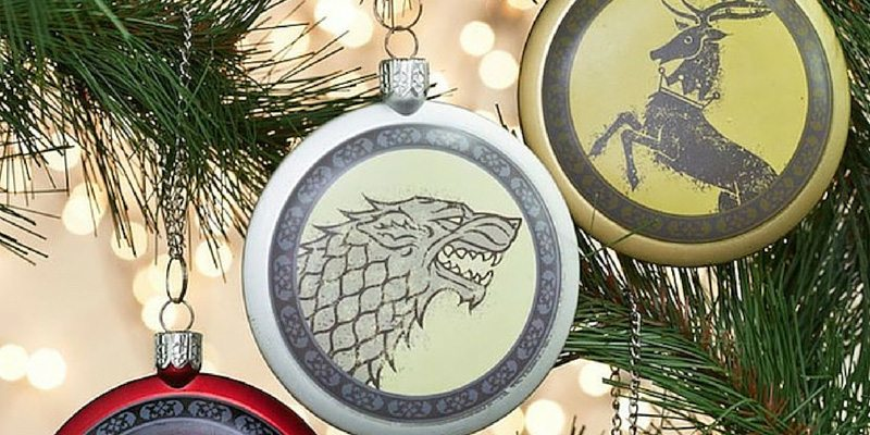 Game of Thrones Sigil Ornament Set