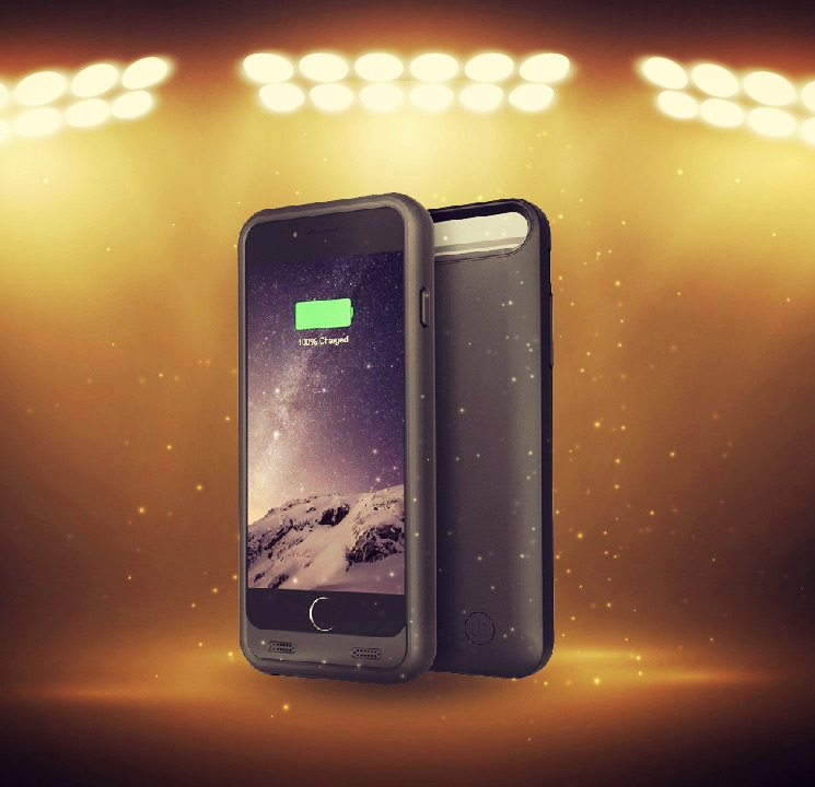 iPhone 6 Battery Case By Trianium