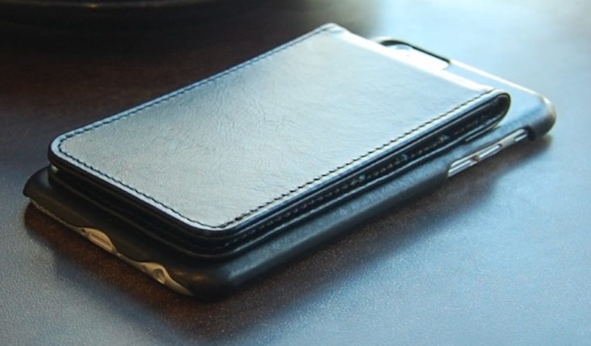 IPhone+6+Black+Classic+Genuine+Leather+Wallet+Case
