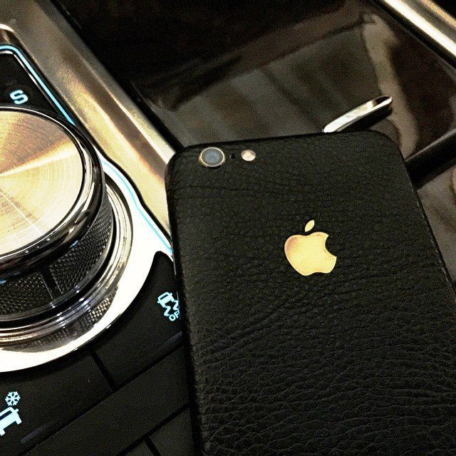 IPhone+6%2B+Black+Leather+Full+Body+Wrap+By+SlickWraps