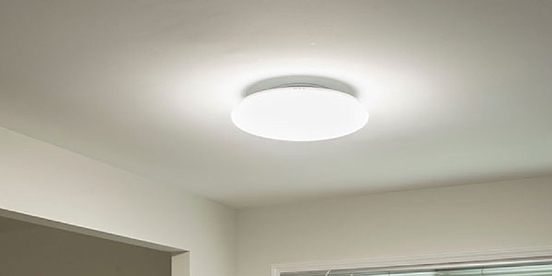 The Sunn Light smart LED light Fixture
